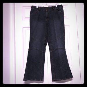Venezia Distressed Pattern Jeans